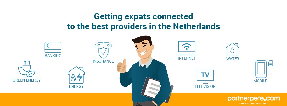 PartnerPete-Getting expats connected to the best providers in the Netherlands