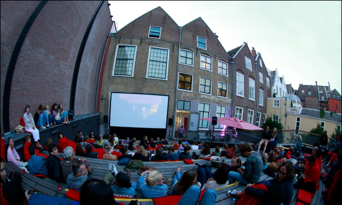 Humanity House open-air cinema Amsterdam