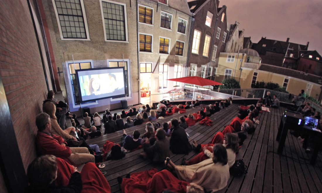 Humanity House outdoor cinema The Hague