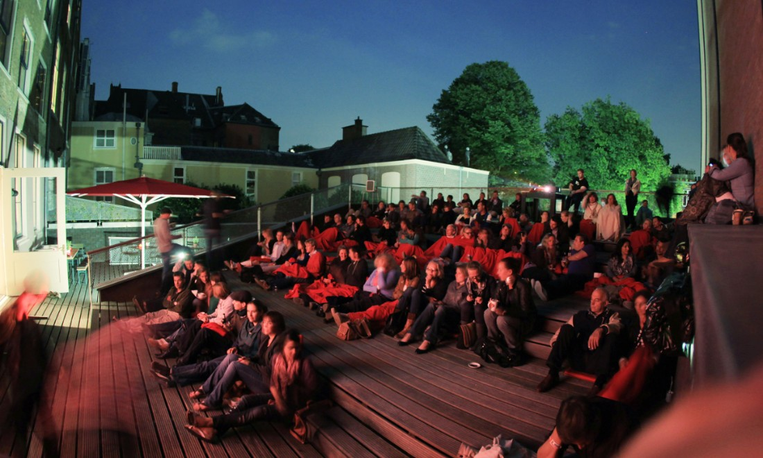 Humanity House Open Air Cinema in The Hague