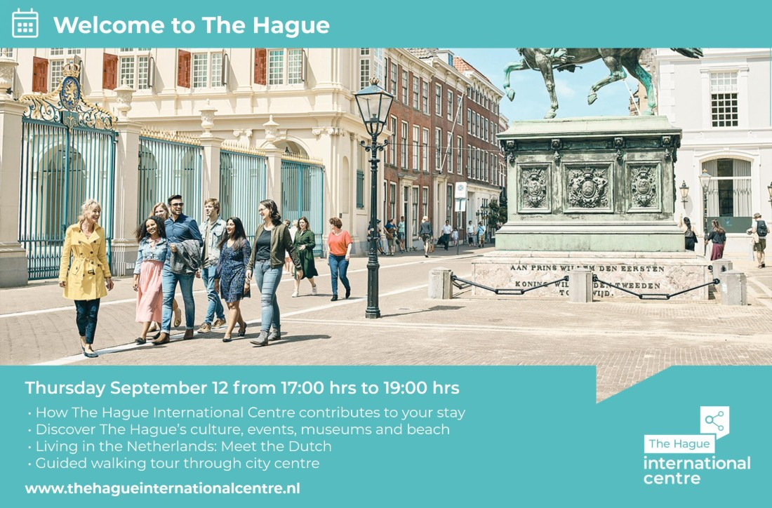 Welcome to The Hague event