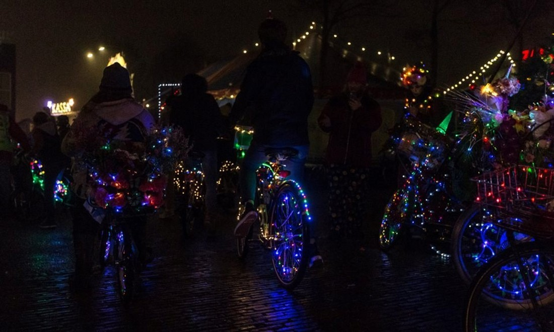Cycle Fun Amsterdam Light Parade