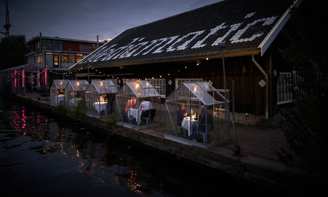 Dutch restaurant testing individual 'greenhouses' for diners amid coronavirus pandemic