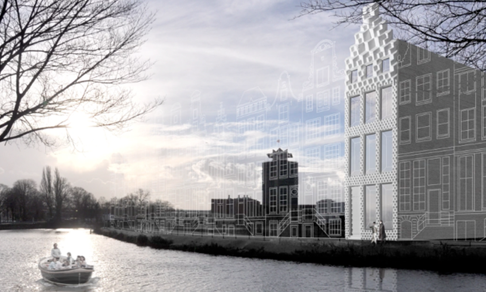 [Video] A 3D-printed canal house in Amsterdam