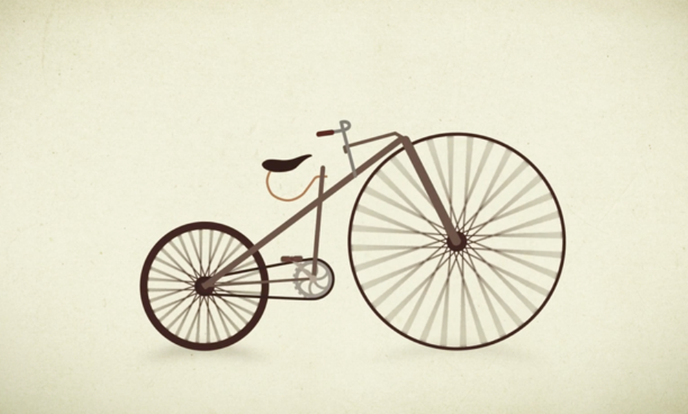 [Video] Evolution of the bicycle