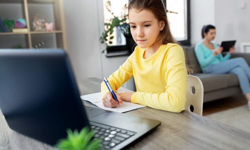 How can you ensure your child stays safe online?