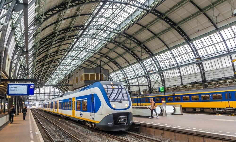 Some trains running during the strike on Tuesday