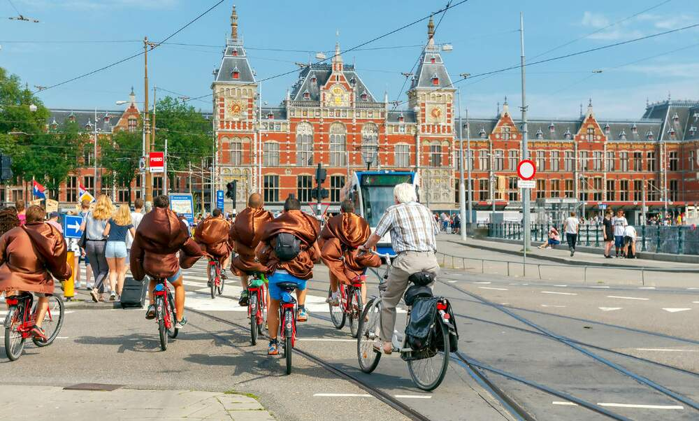 Things that will get you a fine when cycling in the Netherlands