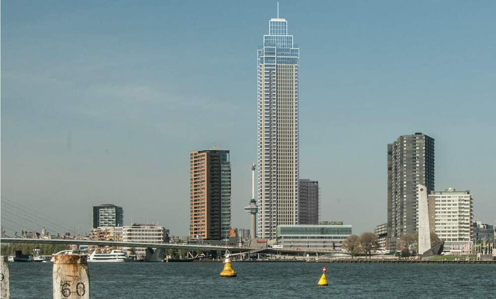 Permission to build the tallest tower in the Netherlands