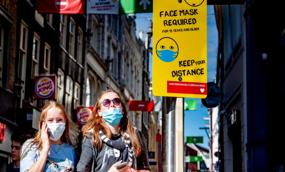 Mandatory face masks in Rotterdam and Amsterdam as coronavirus infections rise