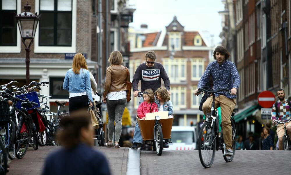 Amsterdam is growing but young families are leaving the city