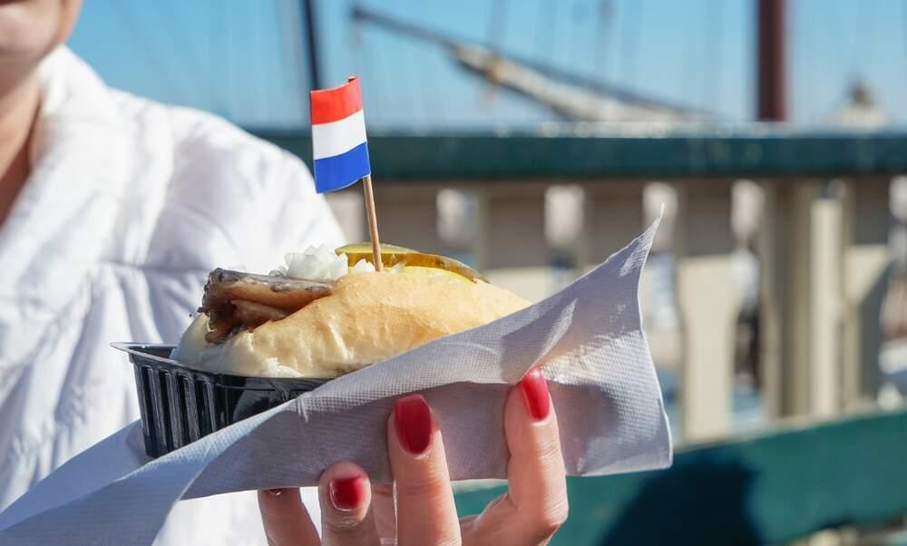 Flag Day | First herring catch in Scheveningen