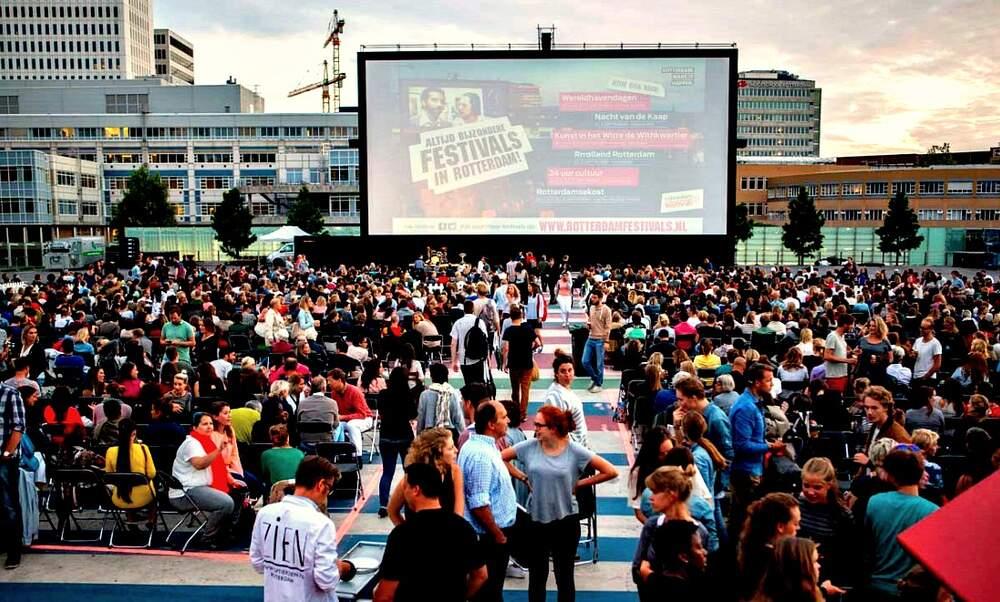 Pleinbioscoop rotterdam outdoor film festival for Rotterdam film