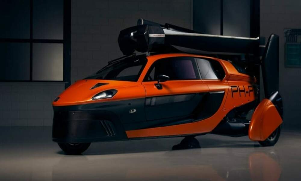 Flying car to drive on Dutch roads for the first time in August