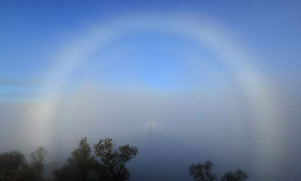 White rainbows spotted across the Netherlands over the weekend