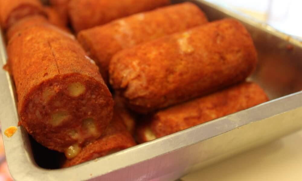Fat Kids Corner food review: Grillworst met kaas