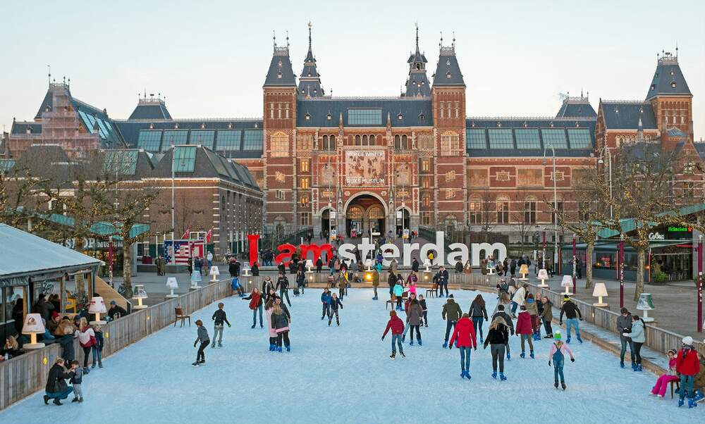 Christmas in Amsterdam with kids