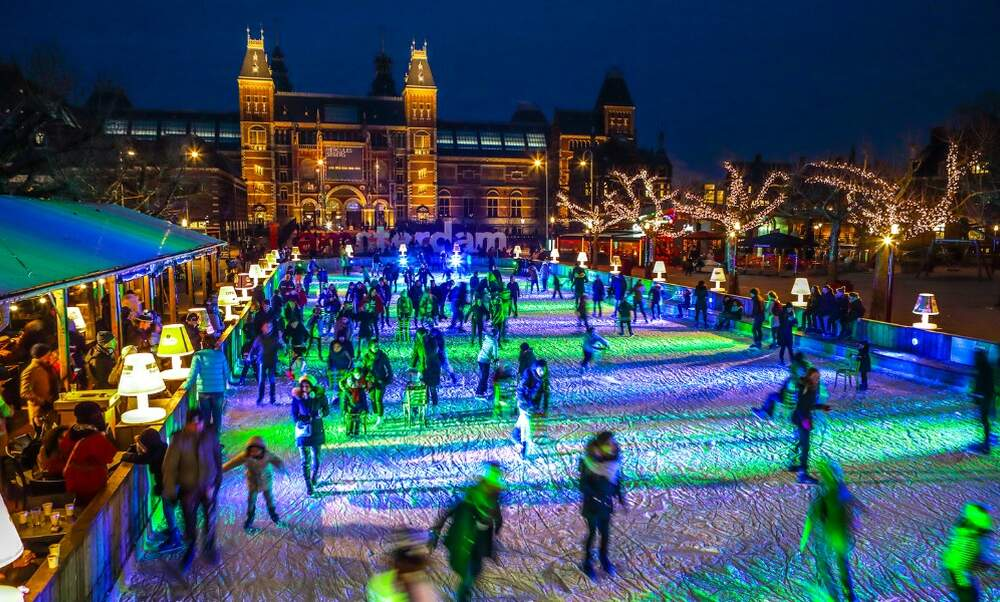 12 best Christmassy ice skating rinks in the Netherlands