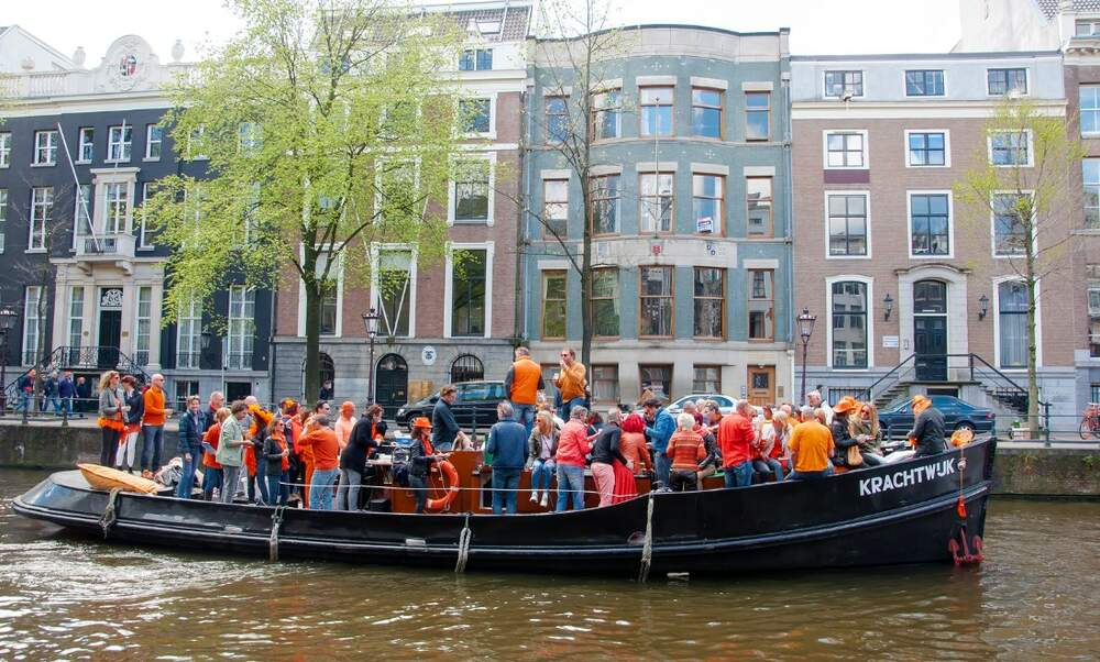 This year's King's Day was the second wettest ever measured