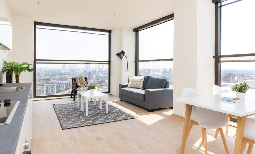 The Lee Towers: Luxurious short-stay apartments with views of Rotterdam