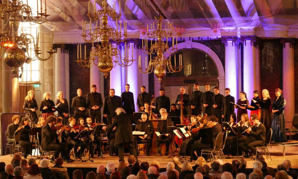 Bach's St. Matthew Passion performances in the Netherlands