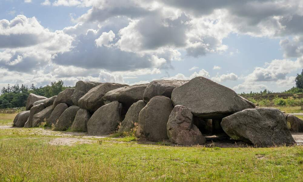 Ancient burial mounds in the Netherlands – the dolmens