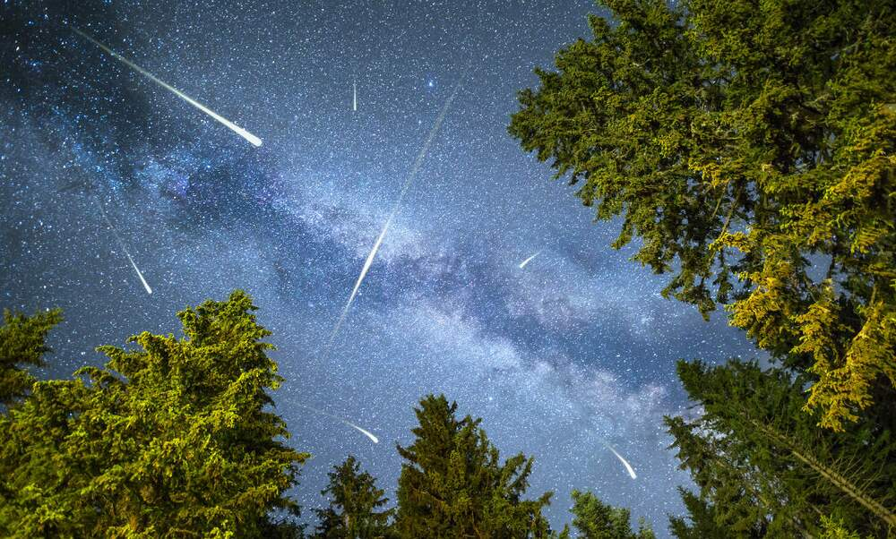 Largest meteor shower in the Netherlands since 1976