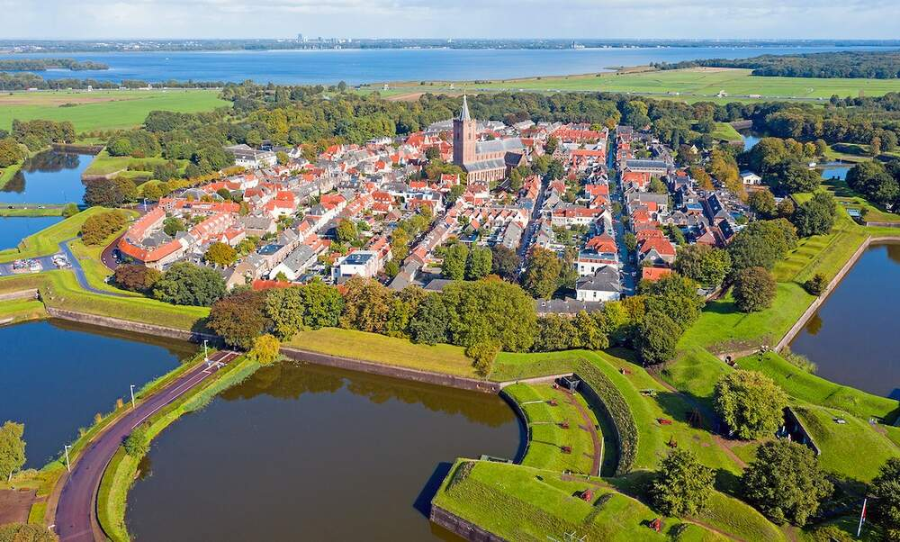 The tentative UNESCO World Heritage Sites in the Netherlands