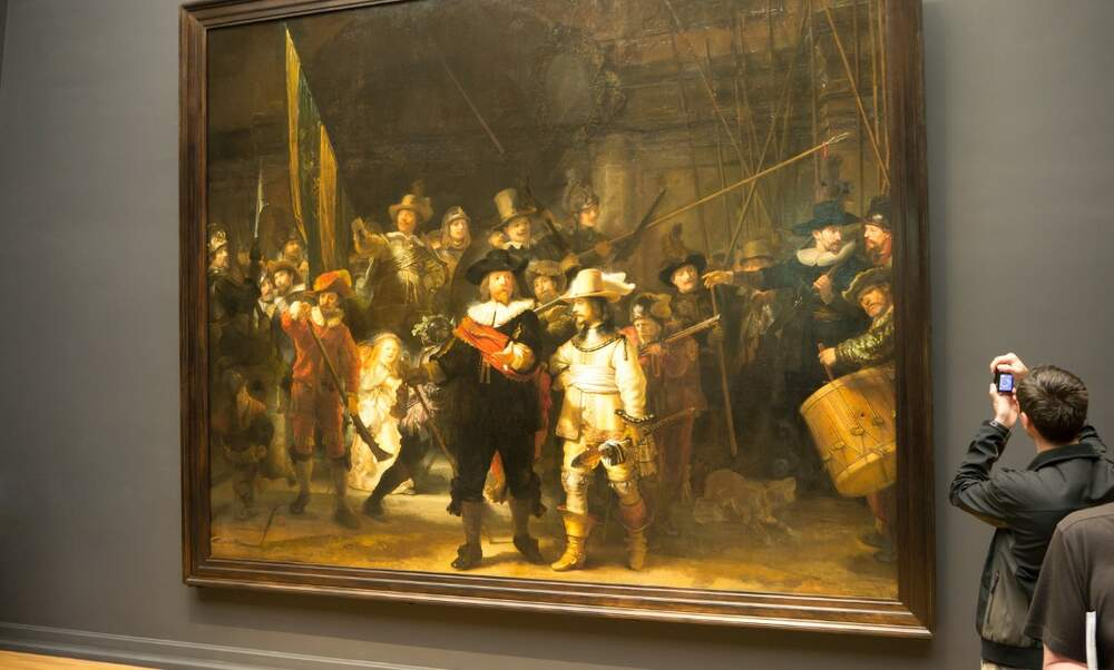 Rembrandt's Night Watch restoration is underway- and you can see it live