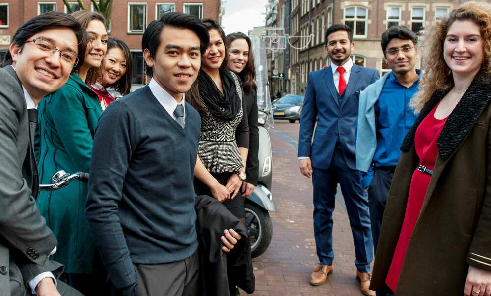 Start your MBA journey in Amsterdam