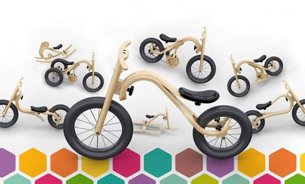 Leg&Go bike for kids: eight bikes in one
