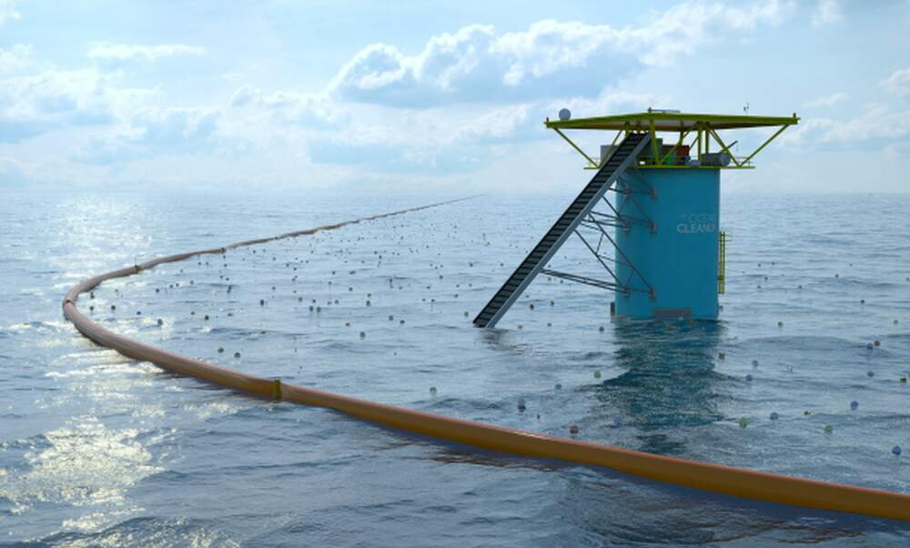 Delft student's Ocean Cleanup crowdfunding successful