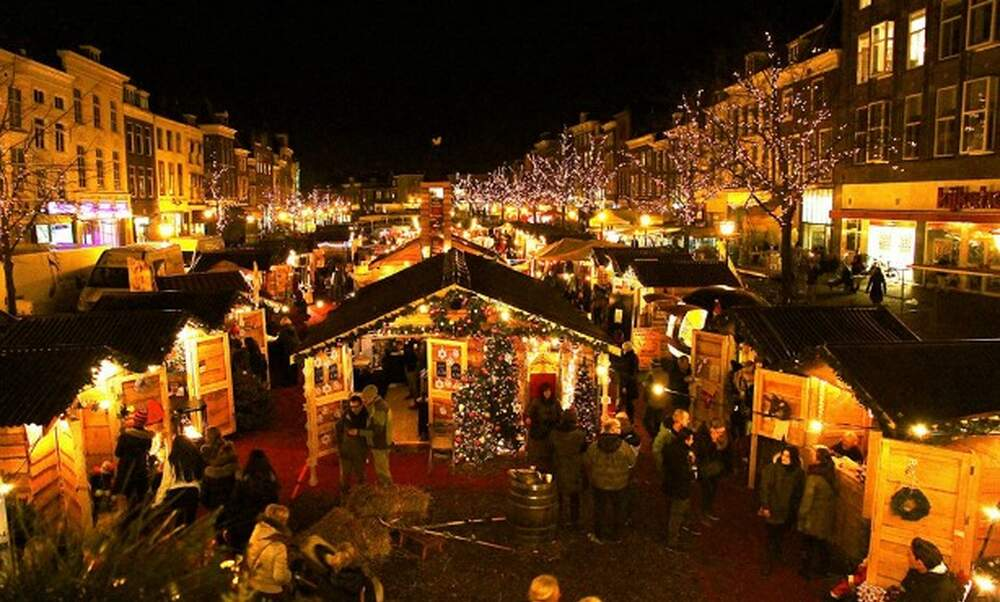 Christmas City.The 7 Best Christmas Markets To Visit In The Netherlands