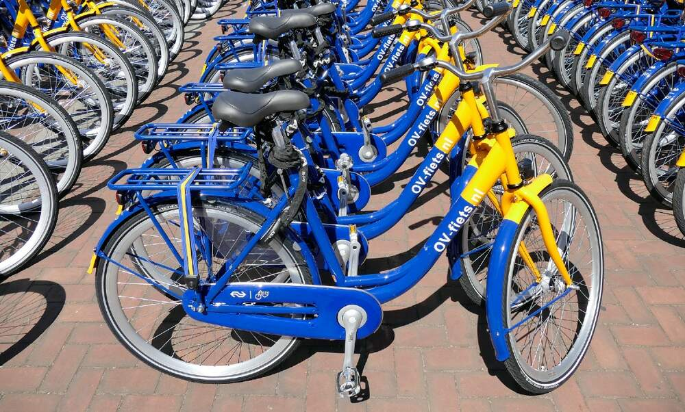 NS is trialling bikes you can unlock with your OV-chipkaart