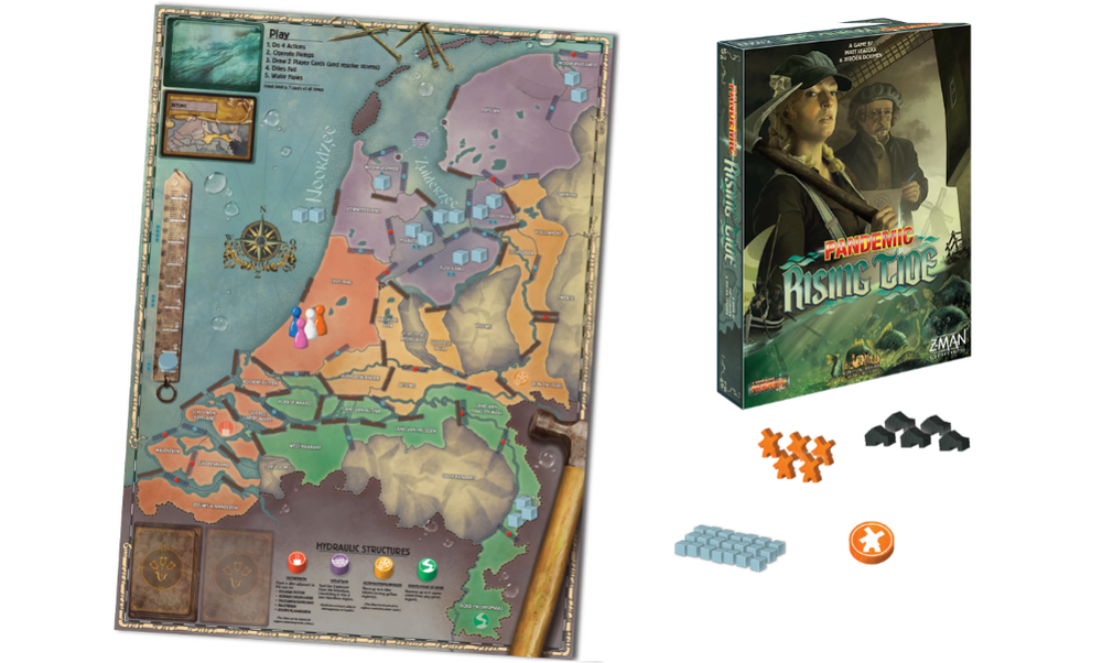 Pandemic: Rising Tide -  a board game set in the Netherlands
