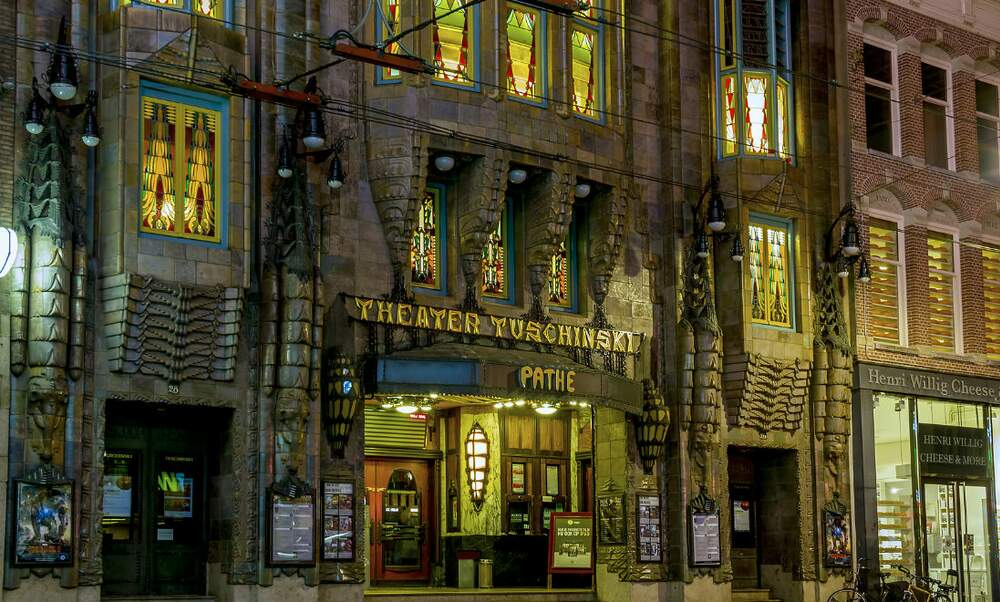 The fascinating history of the Pathé Tuschinski Theatre