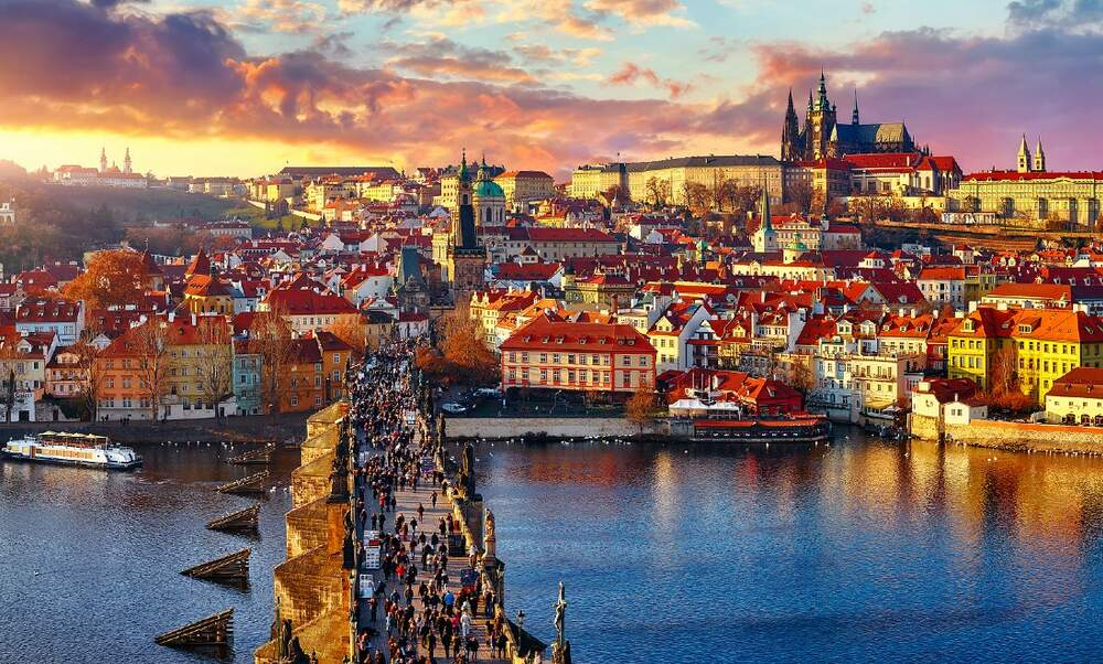 Soon you'll be able to board the night train to Prague!