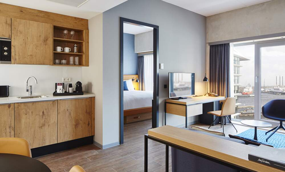 Residence Inn Amsterdam Houthavens: Short stays with harbour views