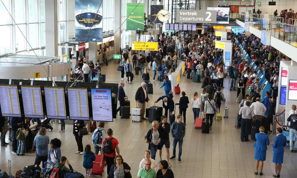 Schiphol Airport still dealing with delays