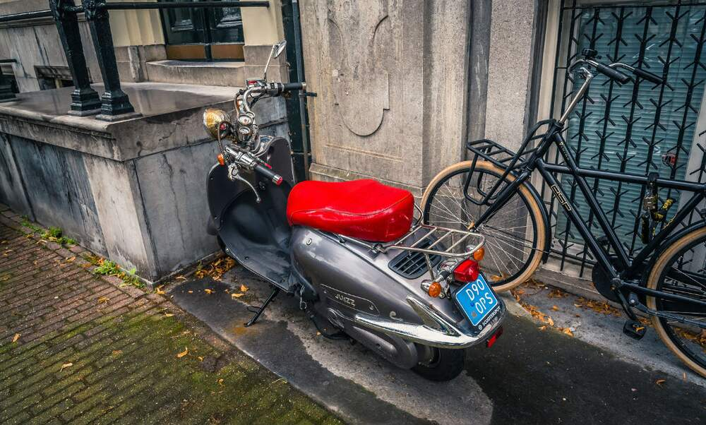 Dutch city bans scooters from environmental zone