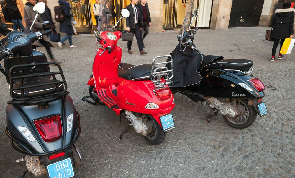 Scooters Definitely Off The Cycle Path In Amsterdam Next Year