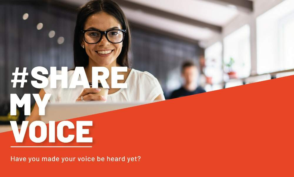 Share My Voice: Speak up and be heard!