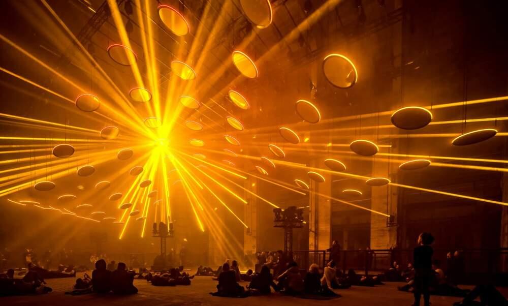 SKALARaudio-visual kinetic art installation at Westergas