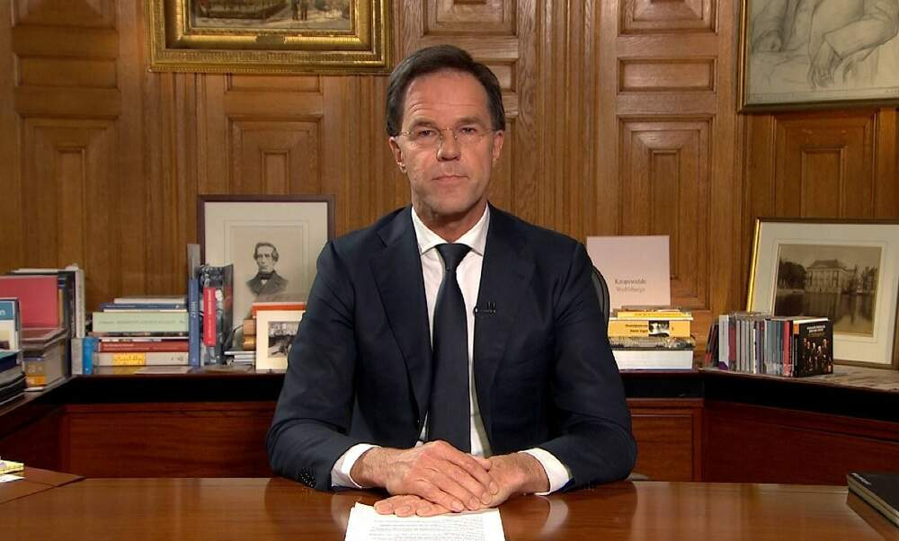 Prime Minister Rutte: Large part of population will get coronavirus