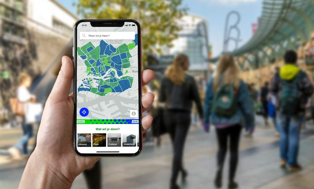Rotterdam to launch app to track busyness of city centre