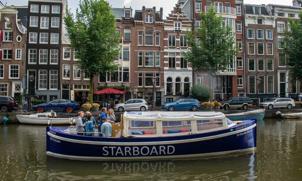 Starboard Boats: Luxury Amsterdam boat rental