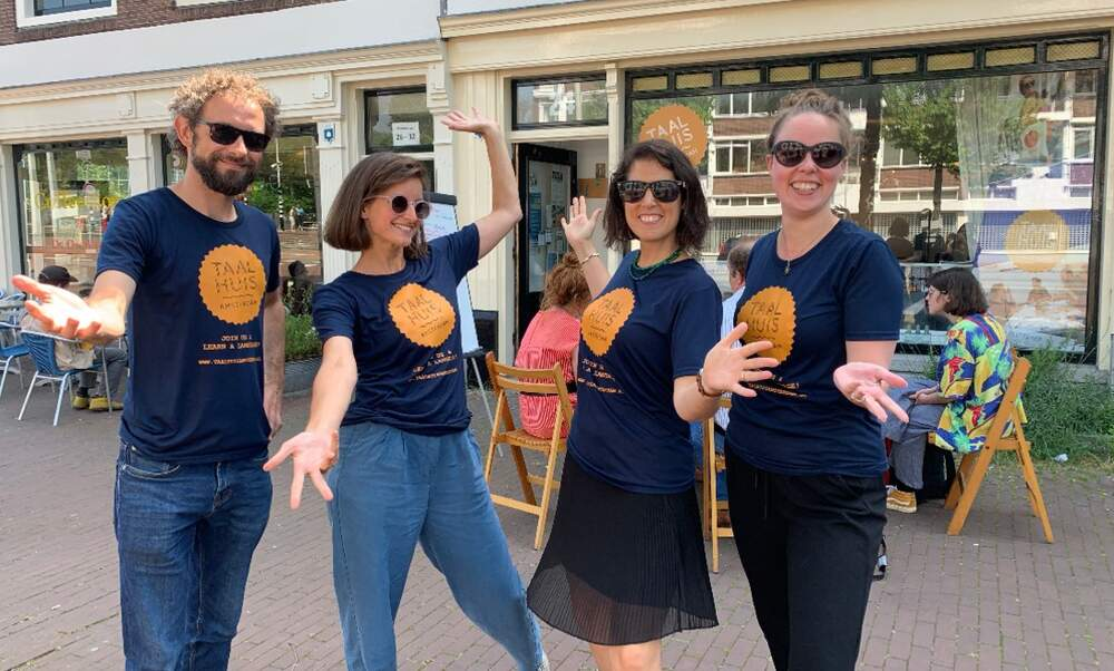 Win a Dutch immersion course at Taalhuis Amsterdam