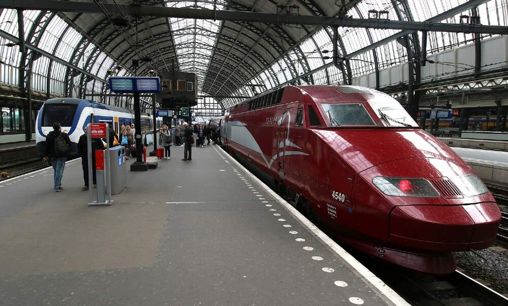 Thalys reduces services between Amsterdam and Paris
