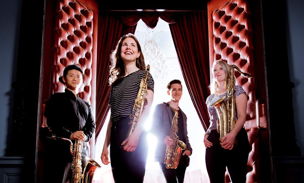 TRACKS: Ardemus Saxophone Quartet - Power to the People