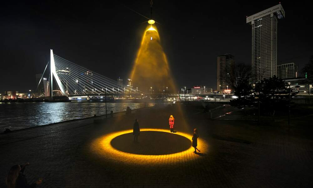 World's first Urban Sun in Rotterdam uses UVC light to kill coronavirus